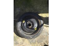 Ford spare wheel with tyre