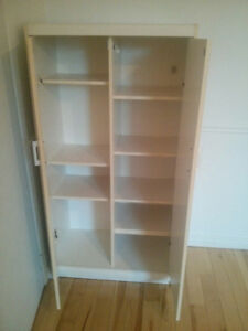 White Cupboard  / Armoire ($10)