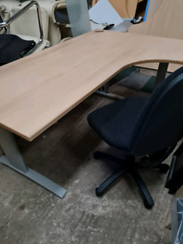 1800 mm beech managers office desk