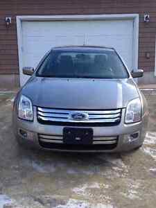 2008 Ford Fusion Grey Sedan