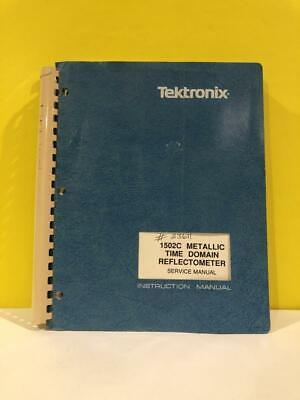 Tektronix 070-7168-00 1502c Metallic Time Domain Reflectometer Service Manual