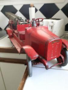 1927 buddy L aerial ladder truck
