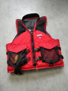 roots life jacket universal size (adult)