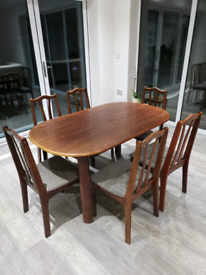NOW SOLD - Dining Table and 6 chairs