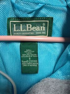 L.L. Bean blue jacket youth size 8 hood London Ontario image 3