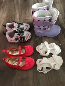 Size 4 girls shoes and sandals