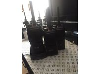 Walkie talkies hytera security construction business