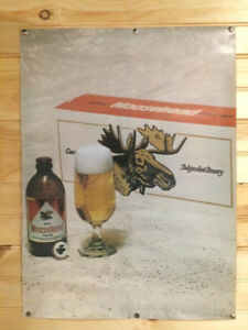 Wanted Moosehead beer posters