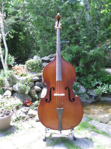 Violin cornered Double Bass 3/4 with pickup - solid