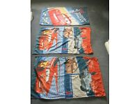3 Disney Cars Lightning McQueen children's towels