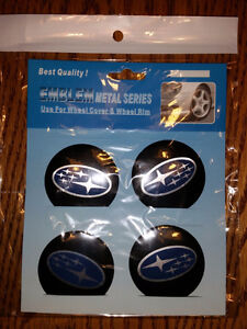 Set of 4 stickers for aluminum wheel BMW Toyota Honda Ford...