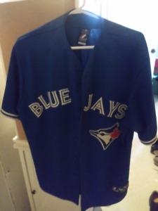Toronto Blue Jays button jersey (Large)