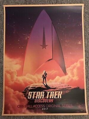 STAR TREK Discovery -  Teaser Poster STLV -  Star Trek LAS VEGAS Convention 2017