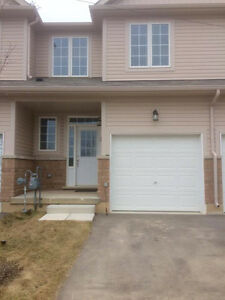 Almost new townhome for rent in West Brantford
