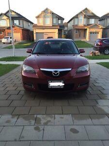 Burgundy 2008 Mazda 3 London Ontario image 1