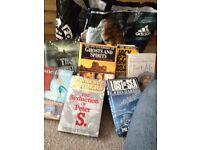 Bag full of books