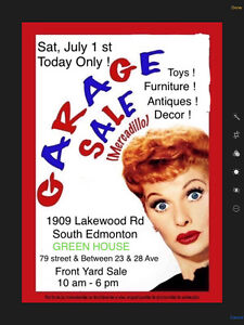 Pop Up Garage Sale ! One day only!