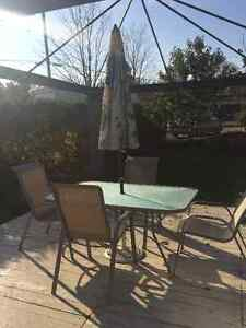 Patio set kijiji free classifieds in fredericton find for Outdoor furniture kijiji