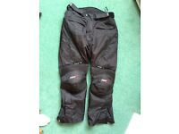 RST Textile Trousers AS NEW Size 2XL