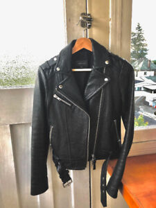Aritzia Mackage RUMER Leather Jacket (XS)