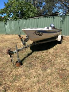 Savage Tinny boat