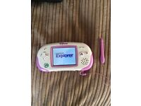 Leapster explorer and games