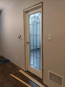 "30"" glass door"