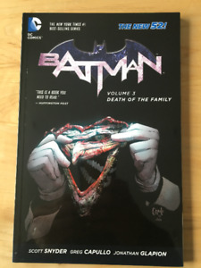 Batman: Vol.3 Death of the Family comic book/trade paperback