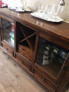 Beautiful Solid Wood Sideboard and buffet