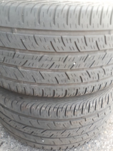 PAIR OF R17 245-40 SUMMER TIRES
