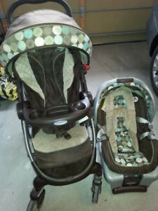Graco stroller + Car seat travel system