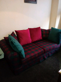 Lindsay Tartan Large Sofa