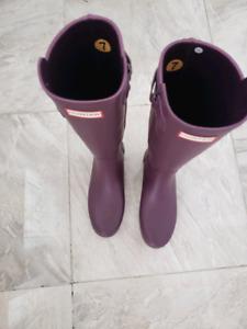 Women's Original Back Adjustable Hunter rain Boots