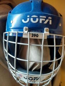 JOFA  Soderstrom goalie HELMET/ BUBBLE MASK COMBO vaughn ccm