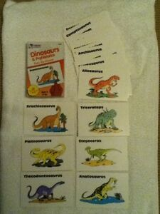 Dinosaurs & Prehistorics Fun to Know Cards