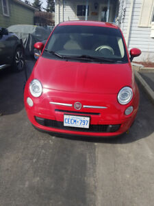 2013 Fiat 500 Pop Coupe (2 door)