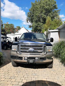 Ford 250 King Ranch noir 2007