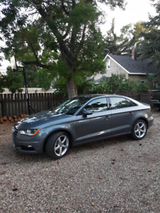 2016 Audi A3 Quattro AWD car with only 26 000km's