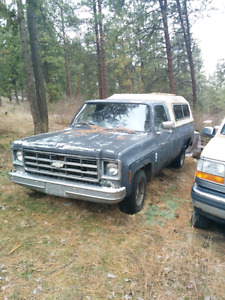 1978 chevy/gmc parts truck