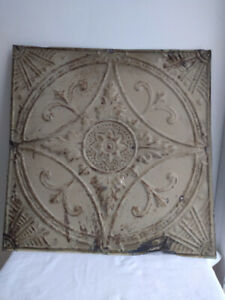 Antique tin ceiling tile