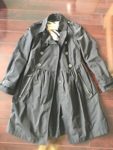 Burberry black rain trench excellent condition - $400 - US4