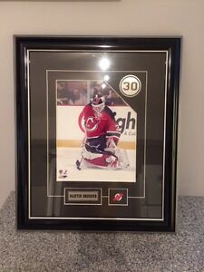 Framed Martin Brodeur Print Kingston Kingston Area image 1
