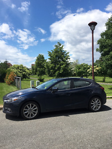 ** Transfert de bail ** 2017 Mazda3 Sport GT ** Lease-Take-Over