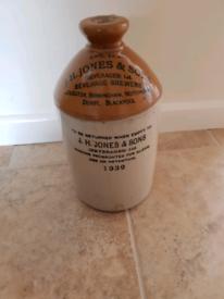 Old stone jar