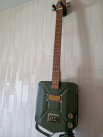 Jerry Can 4 string guitar