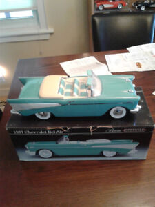 JIM BEAM  57 CHEVY CONVERTIBLE DECANTER