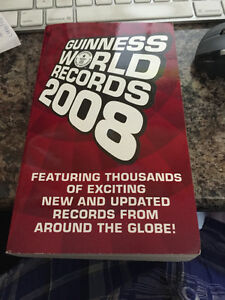Guinness Book of World Records 2008-Only $1.00 till Sunday!