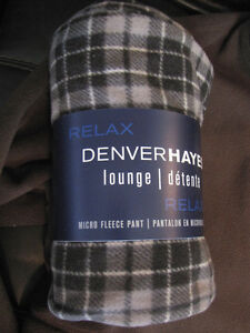 new with tags men's fleece pj pants and Roots sweater Cambridge Kitchener Area image 3