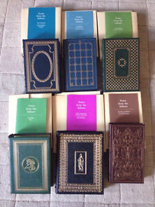 Franklin Mint Leather Bound Book Collection (6 titles)