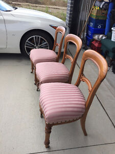 ANTIQUE 3 CHAIRS FOR SALE